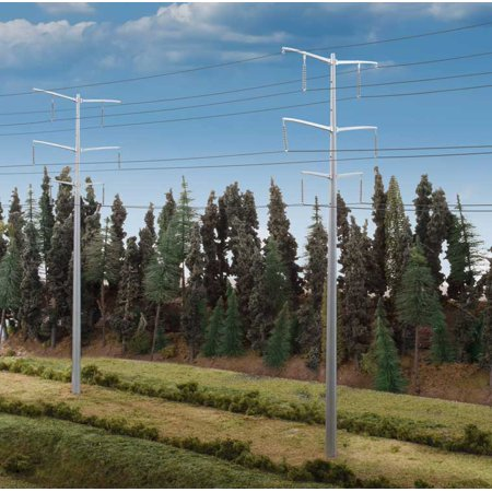Walthers Cornerstone HO Scale Building Kit Modern Power Transmission Towers Walthers Cornerstone Kit