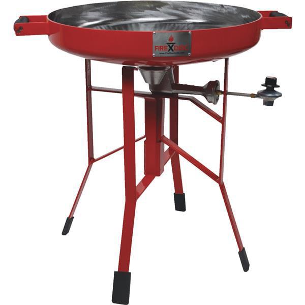 Firedisc Deep Grill 24 Inch Red Walmart Com