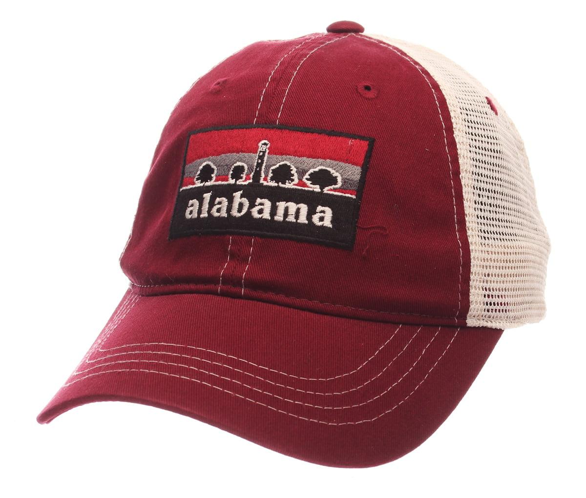 quality design 07efe 6a585 ... czech alabama crimson tide ncaa zephyr landmark adjustable mesh trucker  hat walmart 8074c e5fb5