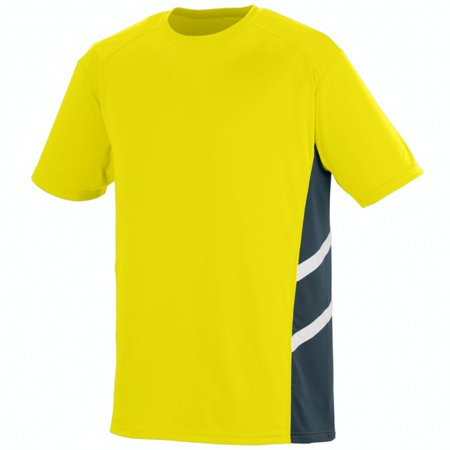 Augusta Sportswear Men's Oblique Jersey Xl Power Yellow/Slate/White - image 1 de 1