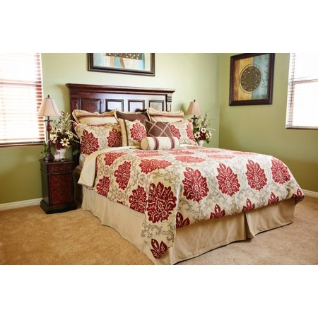 Image of Loom and Mill B0001-K Regency 10 Piece King Comforter Set
