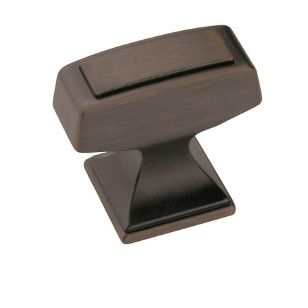 Mulholland 1-1/4 in (32 mm) Length Gunmetal Cabinet Knob Amerock Mulholland Cabinet Knob