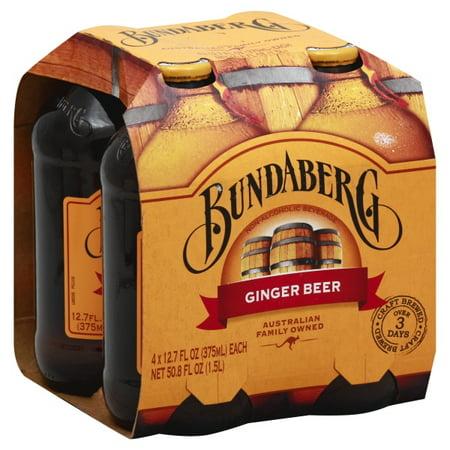 Bundaberg Brewed Drinks Bundaberg  Ginger Beer, 4