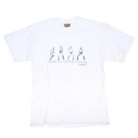 Napoleon Dynamite Check Out My Dance Moves Adult White T Shirt