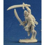 Bones: Mi-Sher, Desert Warrior RPR77217 Mi-Sher Miniature Dark Heaven Bones Reaper Miniatures 77217