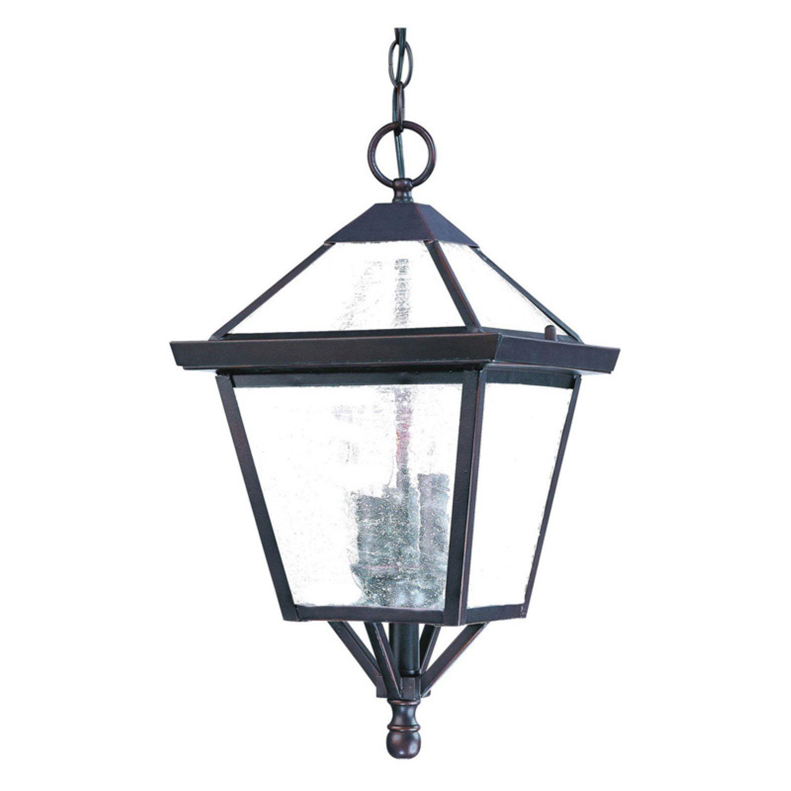 Acclaim Lighting Bay Street 3 Light Outdoor Hanging Lantern Light Fixture