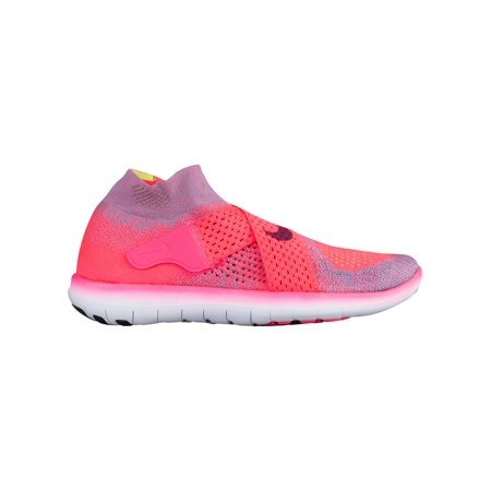 100% authentic 7df09 c9e24 Nike Free RN Motion Flyknit 2017 - Women's - Running - Shoes - Racer  Pink/True Berry/Work Blue/Bright Mango