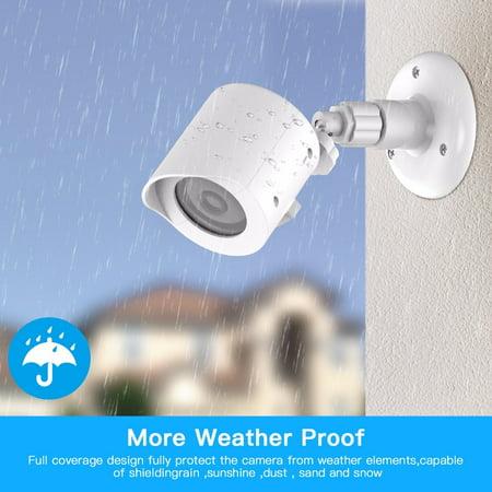 Waterproof case shell for YI 1080p/720p Home Camera Outdoor&Indoor Weatherproof housing for Xiaomi YI Home Camera 2pcs (Epic Camera Housing)