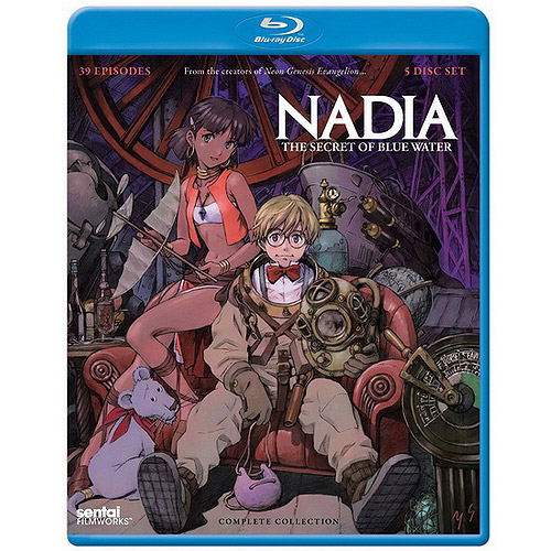 Nadia: The Secret Of Blue Water - Complete Collection (Blu-ray)