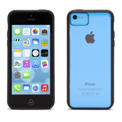 Griffin Reveal Case for Apple iPhone 5c (Black/Clear)