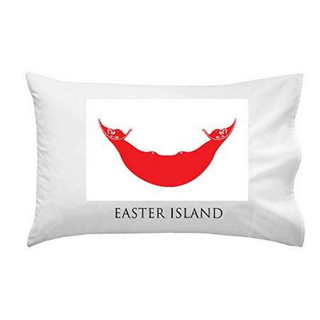 Easter Island - World Country National Flags - Pillow Case Single Pillowcase