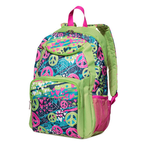 Three Cheers For Girls! Splatter Peace Backpack