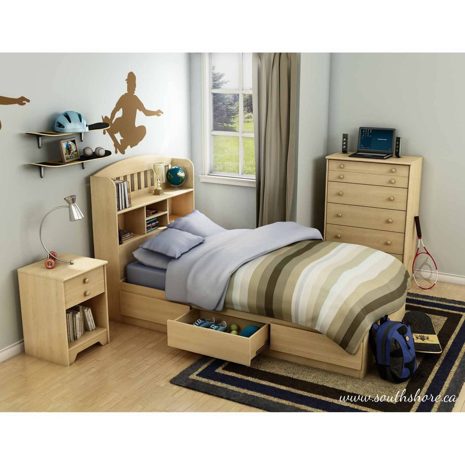 South Shore Popular Kids Bedroom Furniture Collection