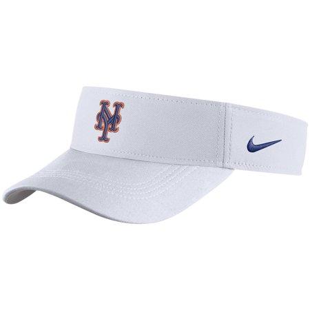 New York Mets Nike Performance Visor - White - - Ny Mets Helmet