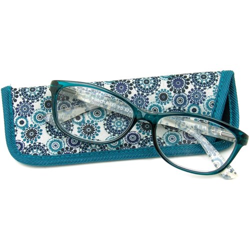Foster Grant Women's Gwennie Reading Glasses, Blue