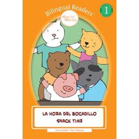 La Hora del Bocadillo - Snack Time - eBook (Snack Time Halloween)