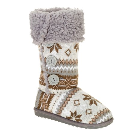 Image of Muk Luks A La Mode Women's Tall Knit Bootie