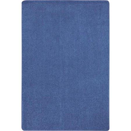 Joy Carpets 623R-01 Just Kidding Classroom Rectangle Rug, Cobalt Blue - 12 x 6 in. (Decorate A Classroom)