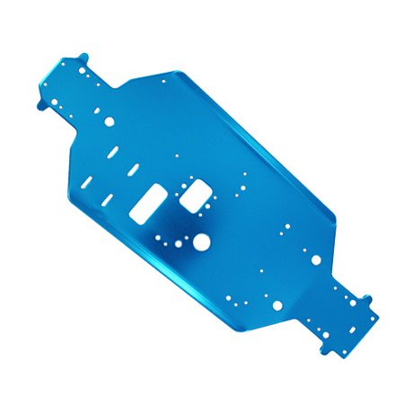 Redcat Racing 06056 Aluminum Chassis, Blue