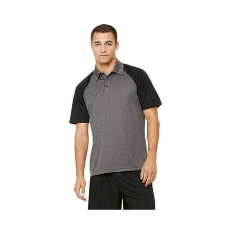 Alo Men's Performance 3-Button Raglan Polo Shirt, Style M1829