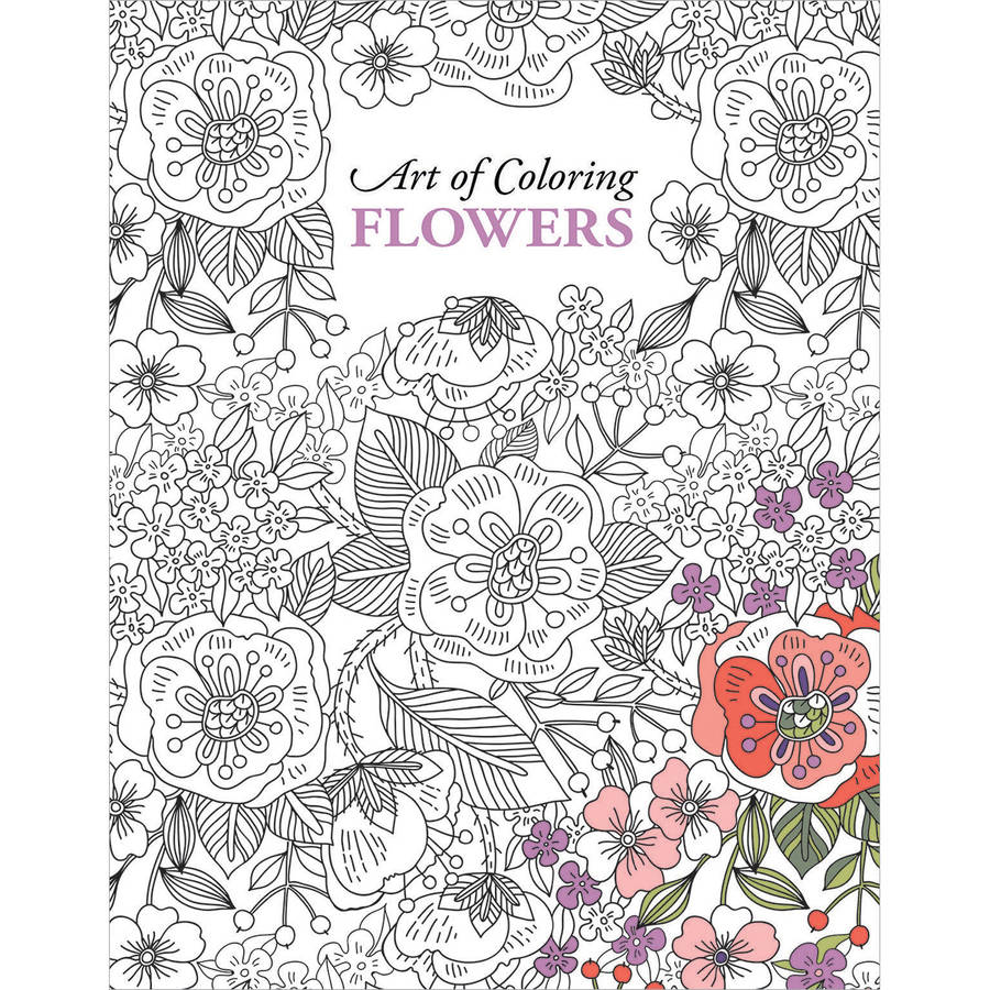 Leisure Arts Adult Coloring Book, Available in Multiple Designs