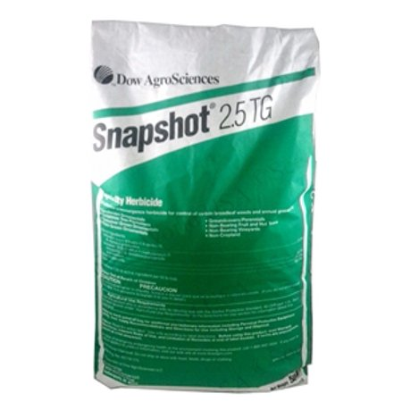 Snapshot 2.5 TG Pre-Emergent Herbicide - 25 Lbs. (Best Post Emergent Herbicide For Centipede)