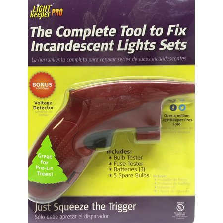 light keeper pro the complete tool for fixing your christmas lights - Christmas Light Fuse
