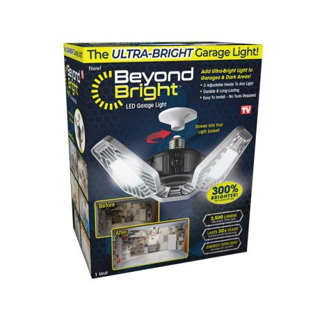 Beyond Bright LED Garage Light, As Seen on TV