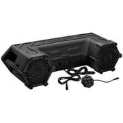 "Planet Audio PATV65 6.5"" 450W ATV Amplified Tube Speaker System+Bluetooth+LED"