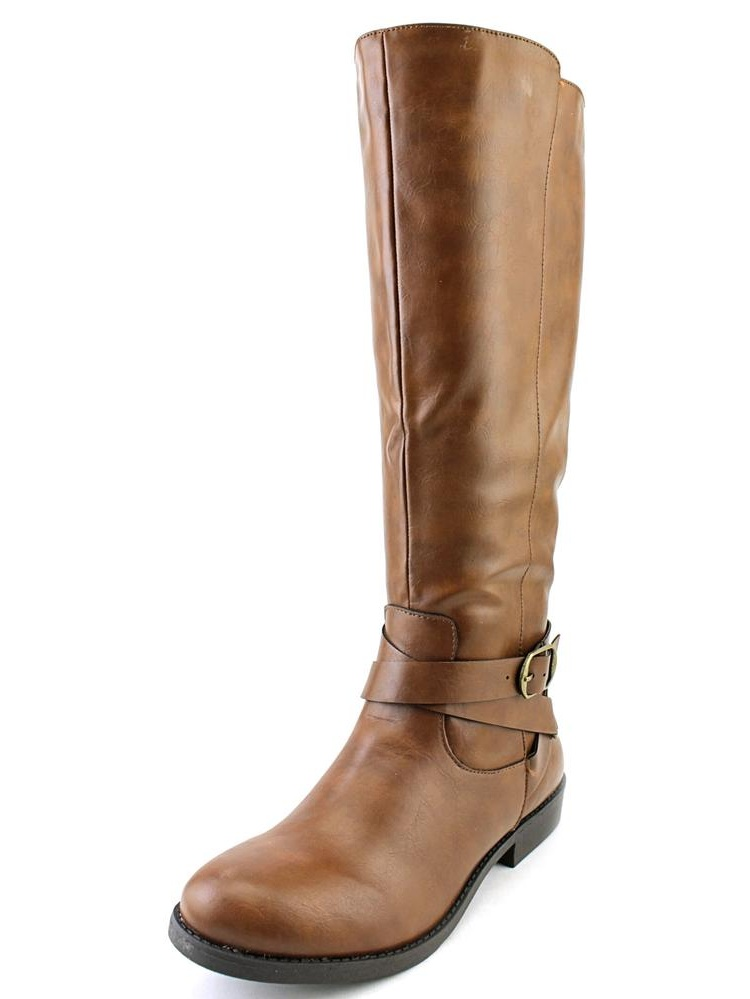 Style & Co Madixe   Round Toe Synthetic  Knee High Boot