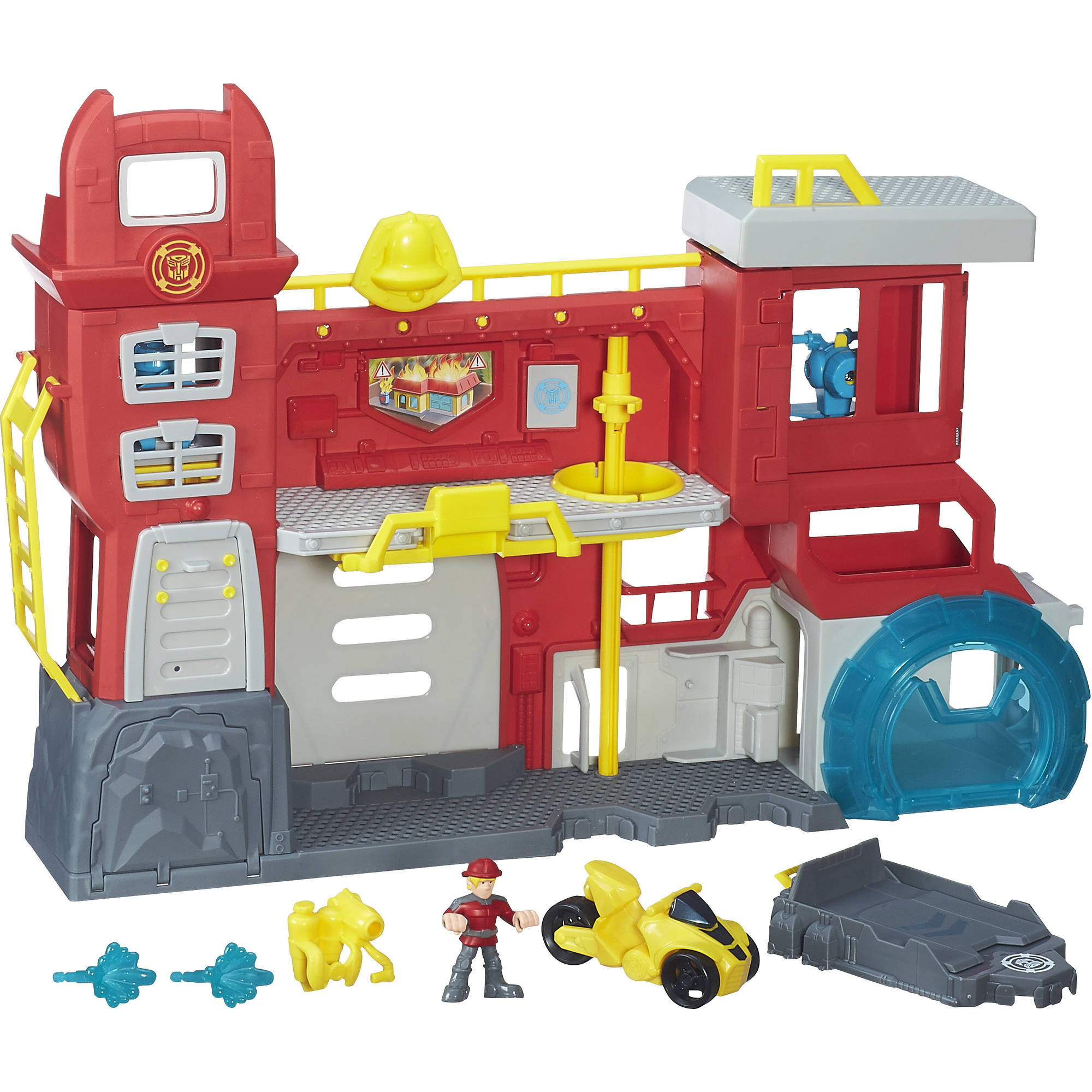 Transformers Robot Rescue Bot Headquarters