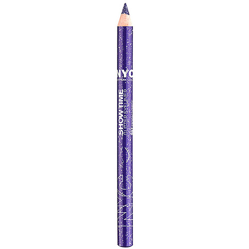 New York Color Show Time Glitter Eyeliner Pencil, Paparazzi Purple