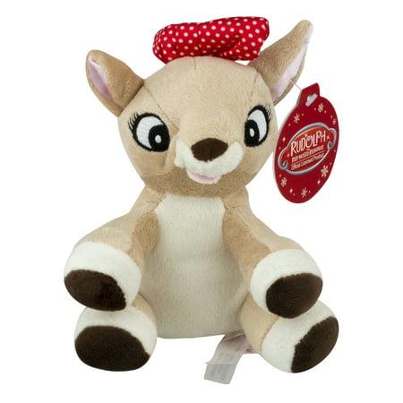 Rudolph Red-Nosed Reindeer Rudolph/Clarice Jiggler, 1.0 CT - Stuffed Reindeer