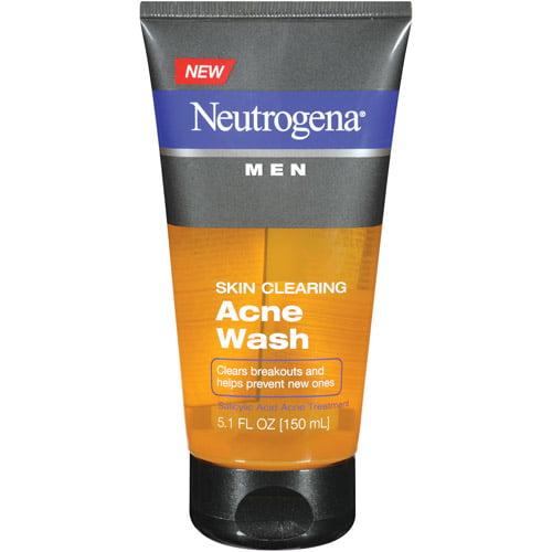 Neutrogena Men Skin Clearing Acne Wash, 5.1 fl oz
