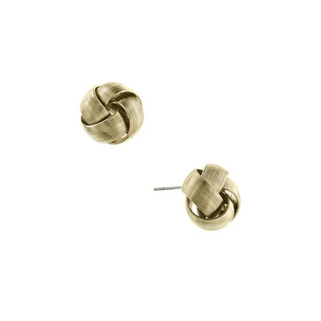 1928 Jewelry Womens Alloy Gold-Tone Love Knot Stud Vintage Fashion Earrings NEW long description is not available