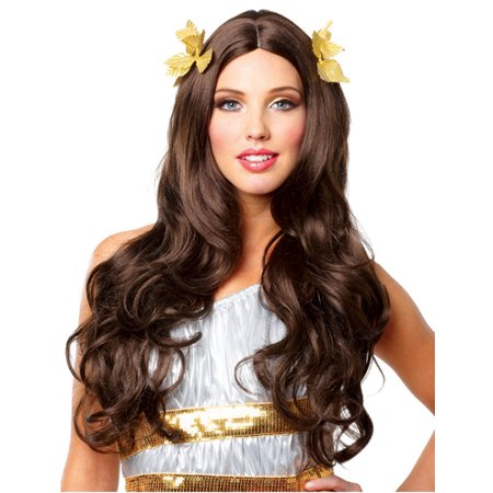 Women's Greek Goddess Halloween Wig - Brunette - Halloween Tf2