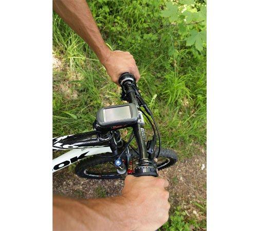 Quick Release Bicycle Handlebar Mount Bracket Kit w//Zip Ties Replacement for Garmin Approach Colorado Oregon eTrex GPS 010-11023-00