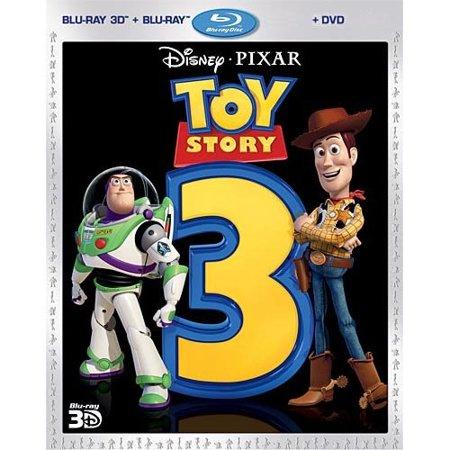 Toy Story 3 (Blu-ray 3D + Blu-ray + DVD) (Widescreen)