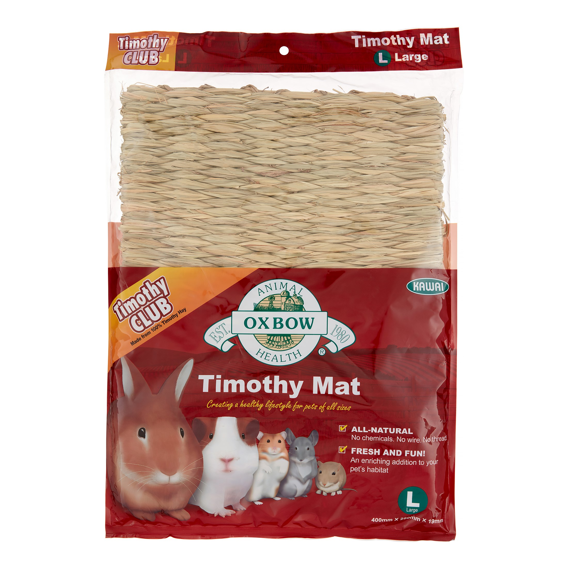 Oxbow Timothy Club Small Animal Mat, Large