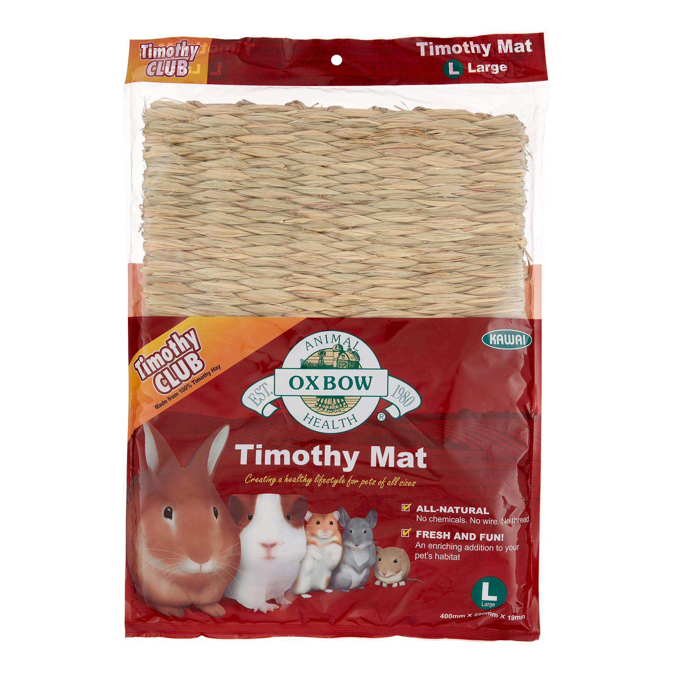 Oxbow Timothy Club Small Animal Mat, Large