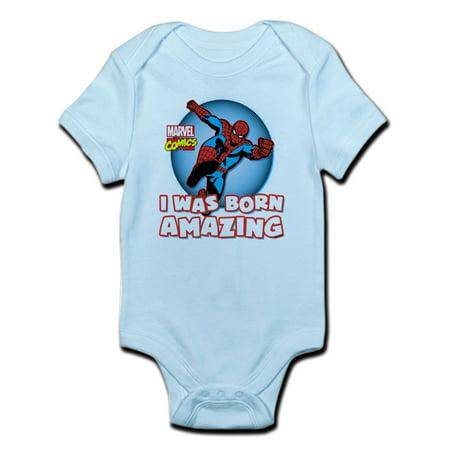 CafePress - Amazing Spider-Man Body Suit - Baby Light Bodysuit](Spider Woman Bodysuit)