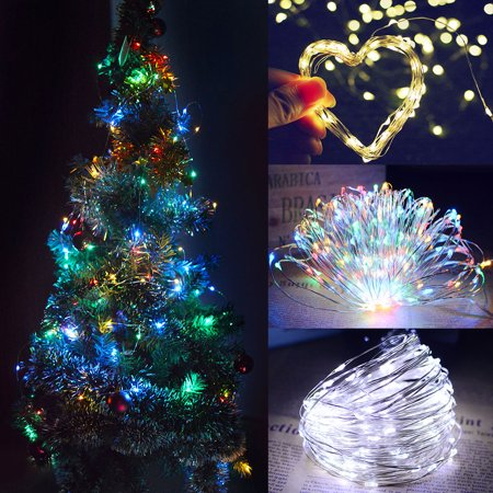 Clearance! 20M 200Led Solar Power Fairy Light String Lamp Party Xmas Decor Garden Outdoor - Christmas Outdoor Decor