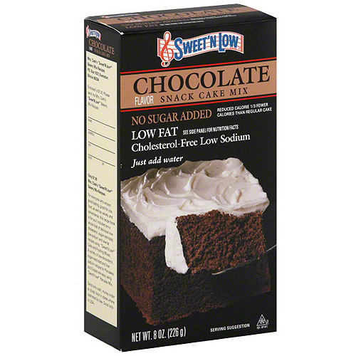 Sweet 'N Low Chocolate Cake Mix, 8 oz (Pack of 6)