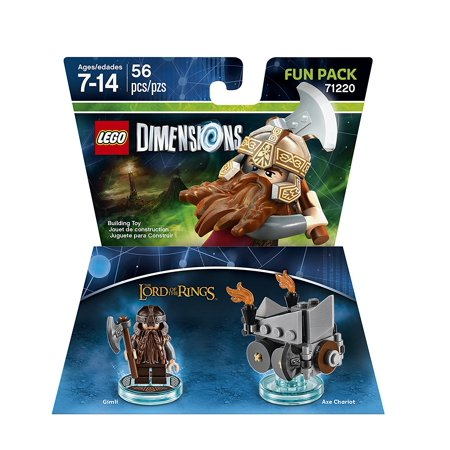 LEGO Dimensions Lord Of The Rings Gimli Fun Pack 71220 - image 1 de 1