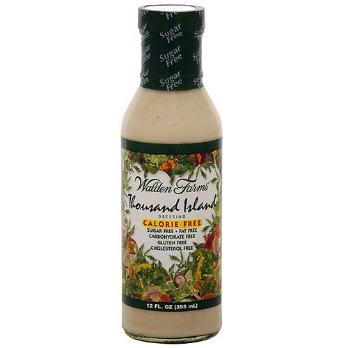 Walden Farms Thousand Island Dressing, 12 oz (Pack of 6)