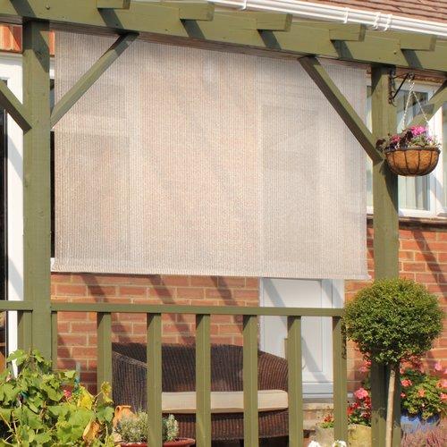 Red Barrel Studio Outdoor Cordless Sun Shade