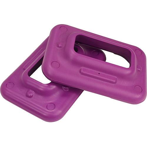 The Step Original Health Club Step Violet Risers, 2-Pack