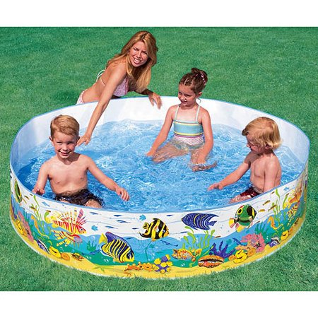 Intex Recreation 58461EP Color Reef Snapset Pool