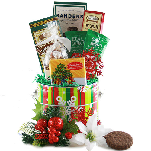 Blissful Sweets Holiday Gift Basket