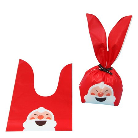 Christmas Elements Apple Packing Bag Cookies Snack Bread Candy Gift Bag ()